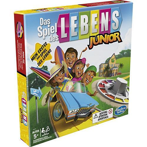Das Spiel des Lebens Junior Brettspiel Kinder ab 5 Jahren, Spiel 2 – 4 Spieler Kinder