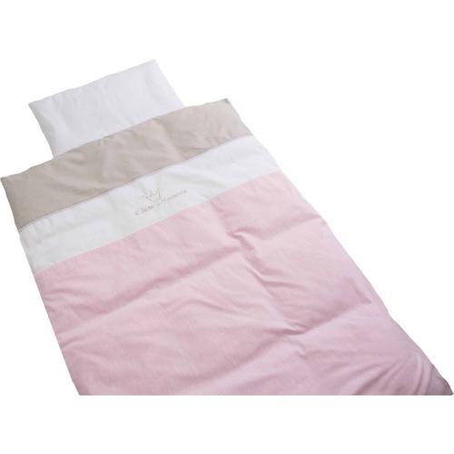 Kinderbettwäsche Kleine Prinzessin, rosa, 100 x 135 cm