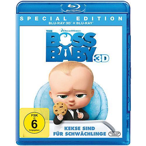 BLU-RAY The Boss Baby 3D (BluRay 3D + BluRay) Hörbuch