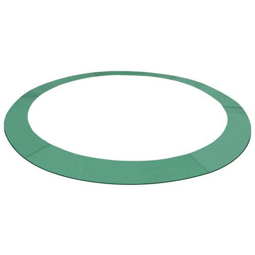 vidaXL Trampolin-Randabdeckung PE Grün für 4,26 m Runde Trampoline