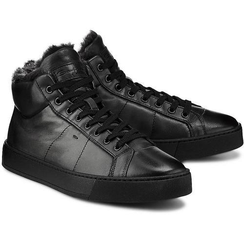 Santoni , Lammfell-Sneaker