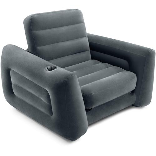 Intex Luftsessel Pull Out Chair grau Wasserspielzeug Outdoor-Spielzeug
