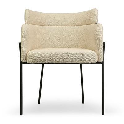 Design Stuhl - Sable Beige & Sch...