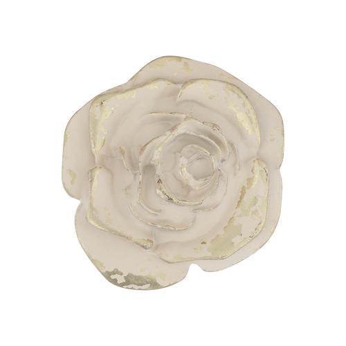 RETTUNGSRING by showroom 019° Gürtelschnalle, in floralem Design weiß Damen Gürtelschnallen Accessoires Gürtelschnalle
