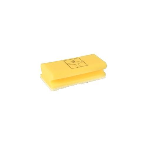 Papstar 70 Schwämme 15 cm x 7 cm x 4,5 cm gelb Bathroom
