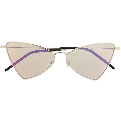Saint Laurent Sonnenbrille mit dreieckigem Gestell
