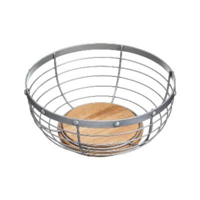 Kitchen Craft - Industrial Kitchen Wire Fruit Basket