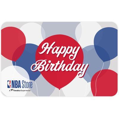 """NBA Store Happy Birthday eGift Card ($10 - $500)"""
