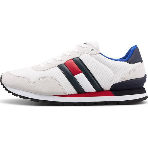 Tommy Jeans, Sneaker Casual Tj in weiß, Sneaker für Herren Gr. 41