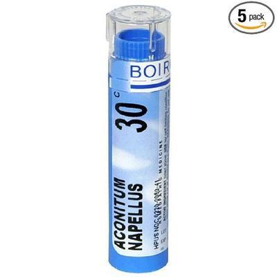 Boiron Aconitum Napellus 30C (Pack of 5), Homeopathic Medicine for Fever