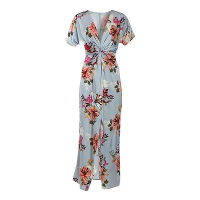 Boston Proper - Sequin Lilies Knot Maxi Dress - Sequin Lilies - 02