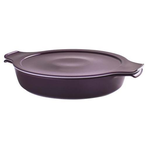 Eschenbach Kochtopf Cook & Serve, Porzellan, (1 tlg.), Ø 18 cm, 0,6 L, Induktion lila Gemüsetöpfe Töpfe Haushaltswaren