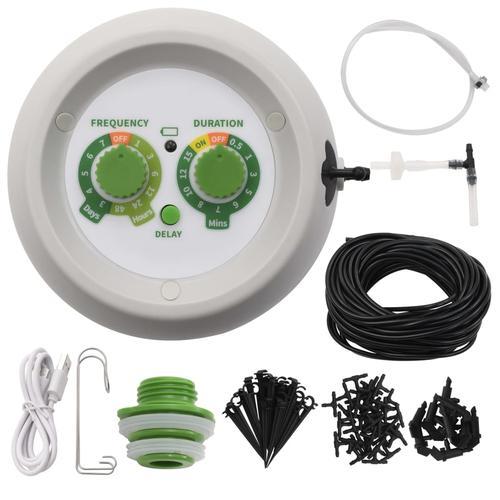 vidaXL Tropfbewässerungsset Automatisch für Innenpflanzen mit Regler