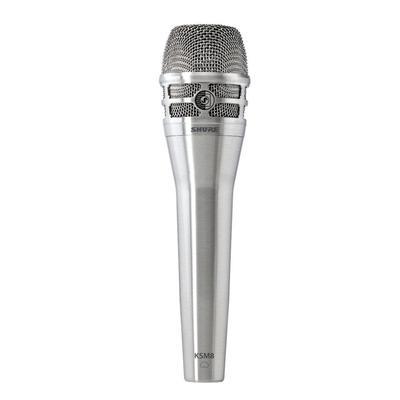 Shure KSM8 Dualdyne Vocal Microphone, Brush Nickel
