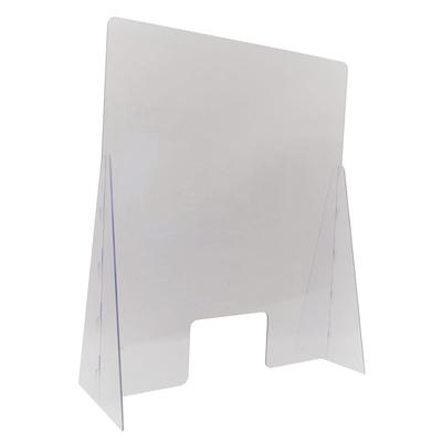 "Nemco 69792-36 Easy Shield? Countertop Safety Shield - 35"" x 14"" x 42"", Polycarbonate"