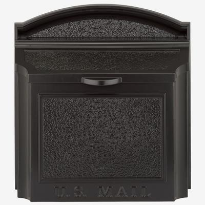 Wall Mailbox by Whitehall Products in Black