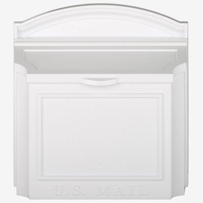 Wall Mailbox by Whitehall Products in White