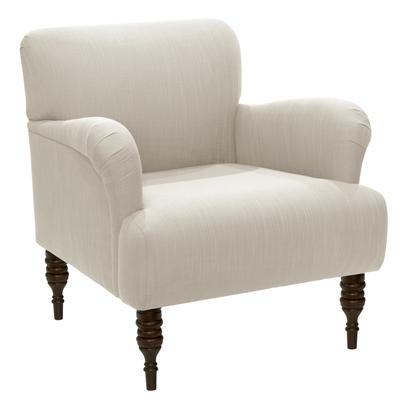 Norwood Chair by Skyline Furniture in Linen Talc
