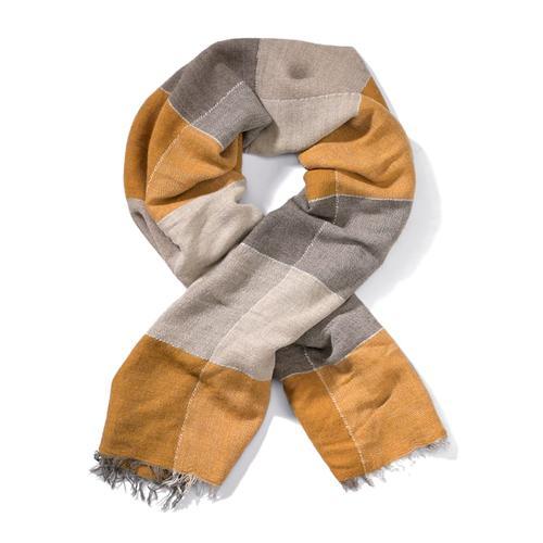 Alba Moda, Schal aus weicher Qualität, gelb