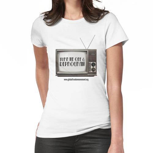 Trennen Sie den Fernseher Frauen T-Shirt