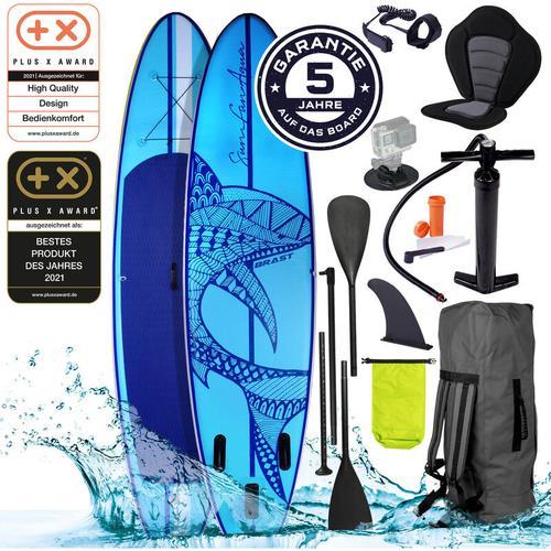 SUP Board aufblasbar SHARK 300 blue