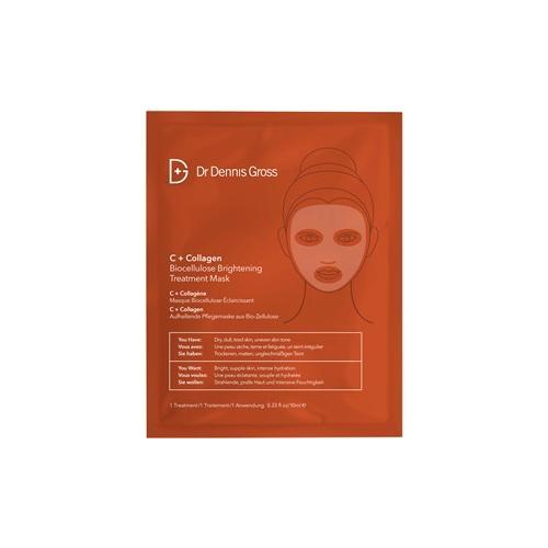 Dr Dennis Gross Pflege C+Collagen Biocellulose Bright Mask 1 Stk.