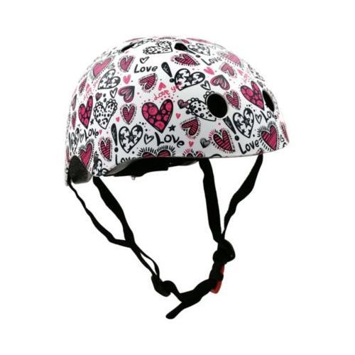 Fahrradhelm - Love / Liebe - S (48-53cm) weiß Modell 1