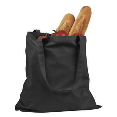 BAGedge BE007 6 oz. Promo Tote Bag in Black | Canvas