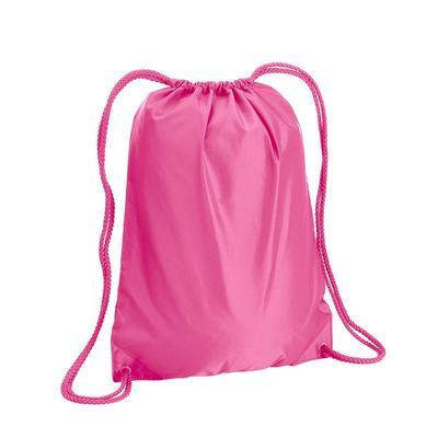 Liberty Bags 8881 Boston Drawstring Backpack in Hot Pink