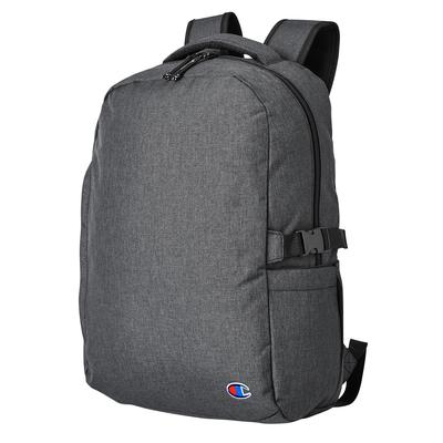 Champion CA1004 Adult Laptop Backpack in Charcoal | Polyester