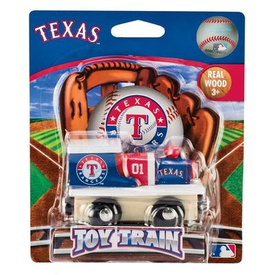 """""""Texas Rangers Youth Toy Train"""""""