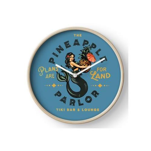 Pinup Girl Mermaid: Das Ananassalon Uhr