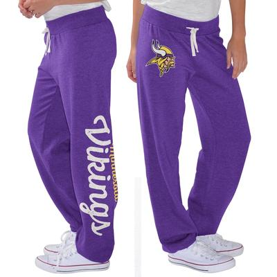 Minnesota Vikings G-III 4Her by Carl Banks Women's Scrimmage Fleece Pants - Purple
