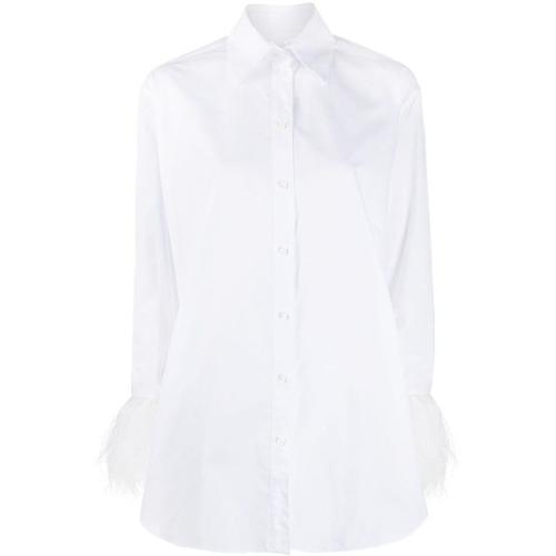 Valentino Hemd mit Federn