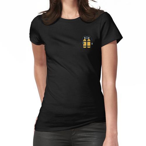 Tauchflaschen Frauen T-Shirt