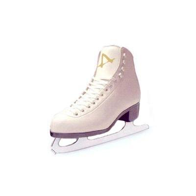 Tricot Lined Girls Figure Skates by American White