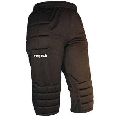 Reusch Alex Breezer Youth Knicker Soccer Goalie Padded Pants Black