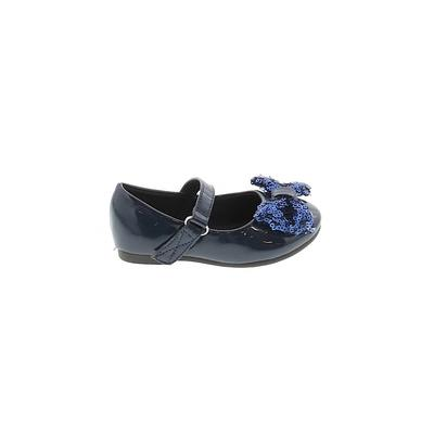 Jelly Beans Flats: Blue Solid Shoes - Size 5