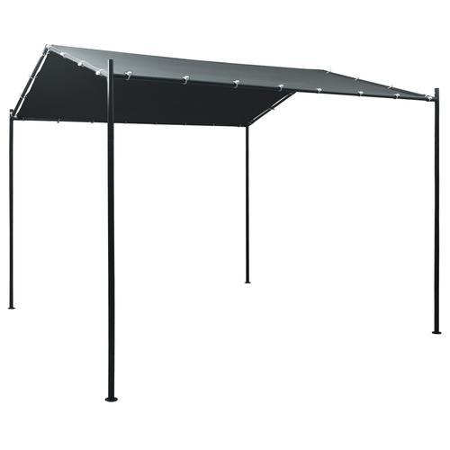 vidaXL Pavilion Partyzelt Überdachung 3x3 m Stahl Anthrazit