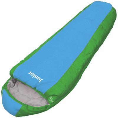 EXPLORER Kinderschlafsack Junior blau Schlafsäcke Camping Schlafen Outdoor