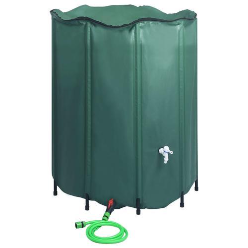 vidaXL Regenwassertank Faltbar mit Hahn 1000 L