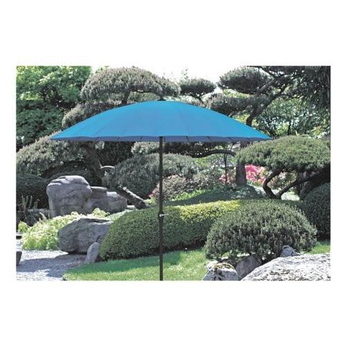 Sonnenschirm farbig blau, Garden Pleasure, 250 cm