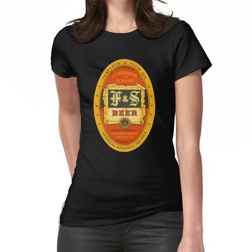 F UND S BIER BRAUEREI VINTAGE BIER COMPANY Frauen T-Shirt