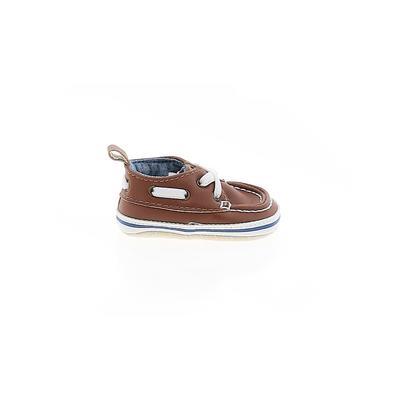 Carter's Booties: Brown Solid Sh...