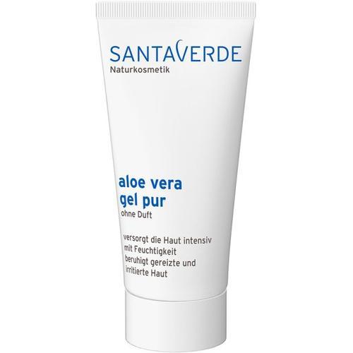 Santaverde Kleingröße Aloe Vera Gel Pur Ohne Duft 50ml