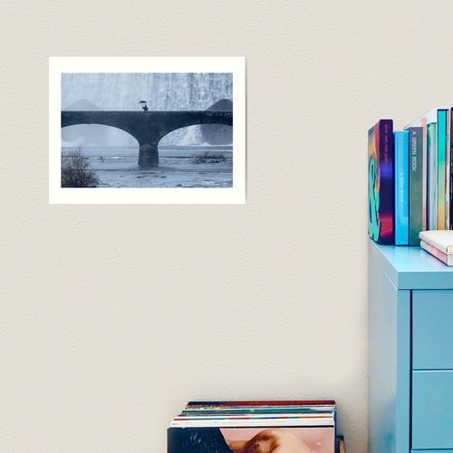 Ein Nicken an Rene Magritte Kunstdruck