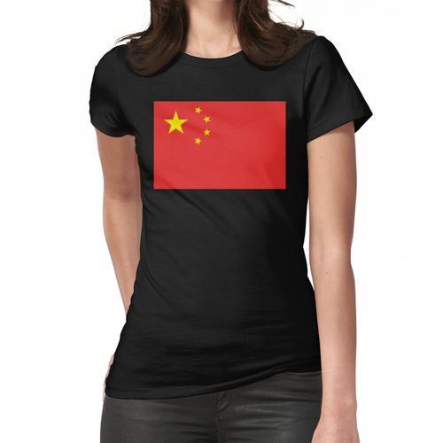 CHINA. CHINESISCH. Flagge von China, chinesische Flagge, Volksrepublik China, China-F Frauen T-Shirt