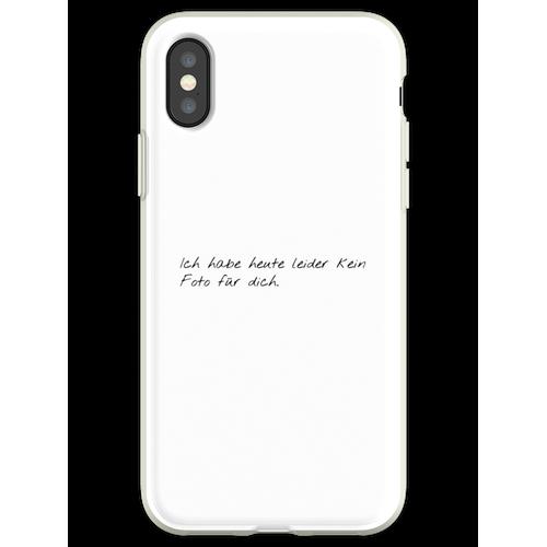 Kein Foto - GNTM Flexible Hülle für iPhone XS