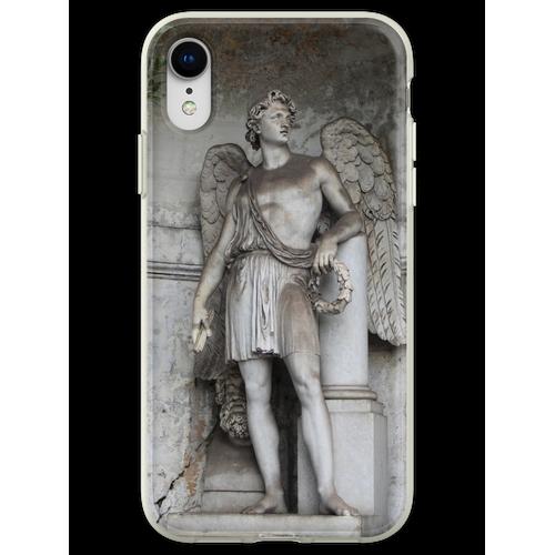 Römische Skulptur Flexible Hülle für iPhone XR