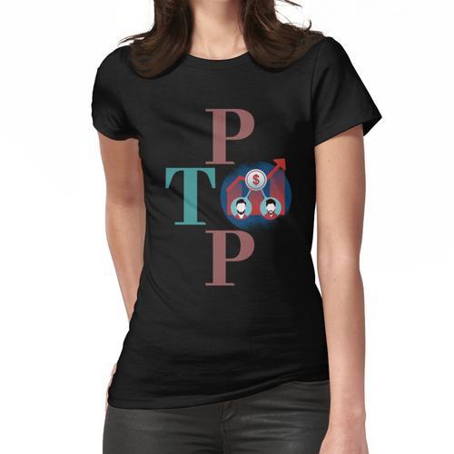 P2P, Crowdinvesting Frauen T-Shirt